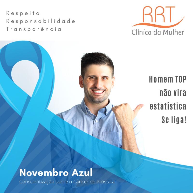 novembro azul câncer de próstata e saúde do homem