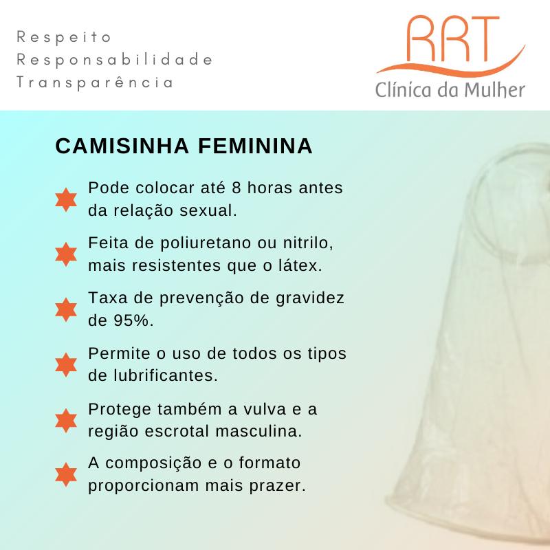 vantagens da camisinha feminina