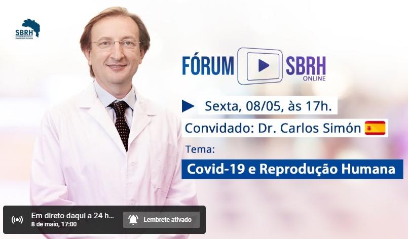 Fórum SBRH Covid-19 e Reprodução Humana