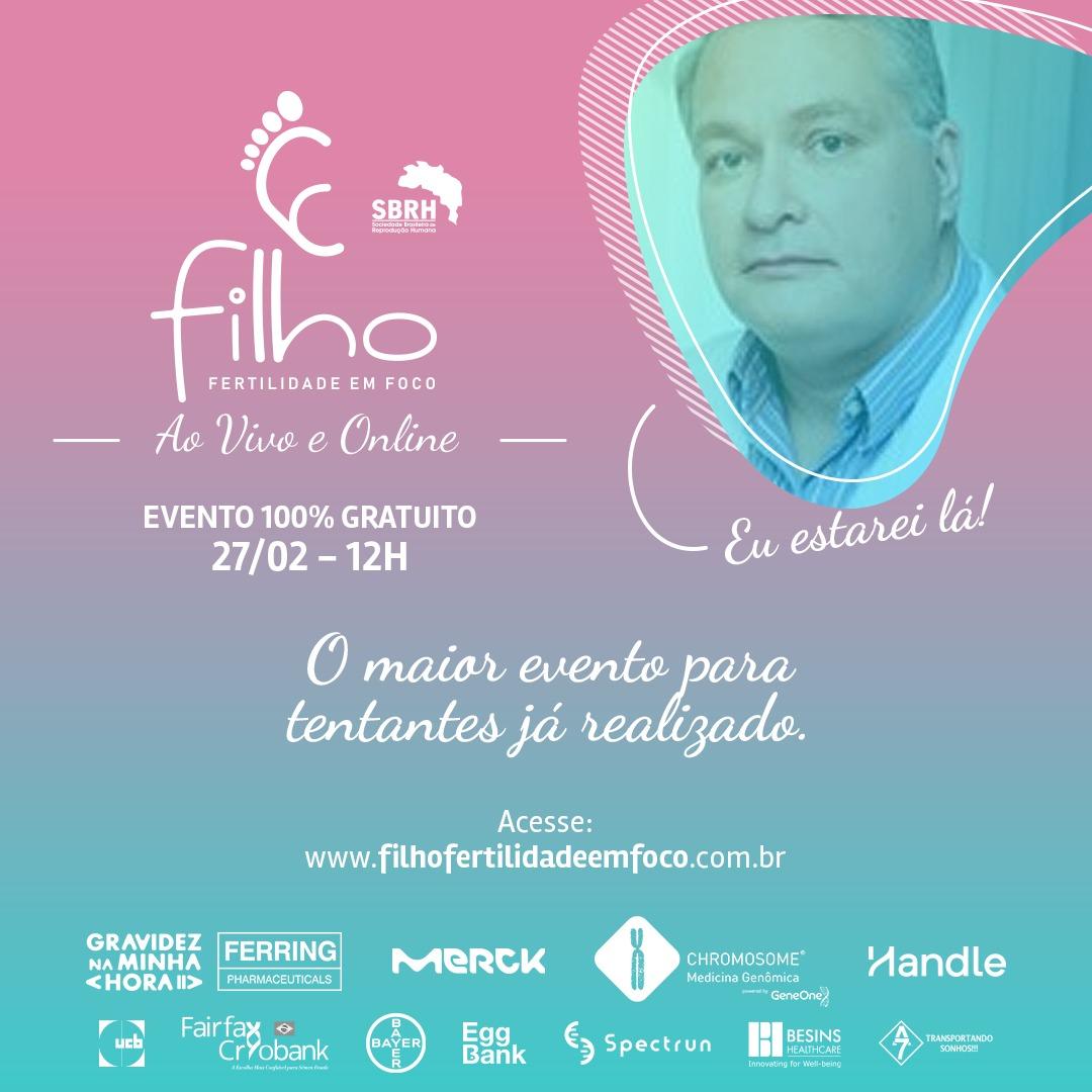 Evento FILHO Fertilidade em Foco Thomas Miklos