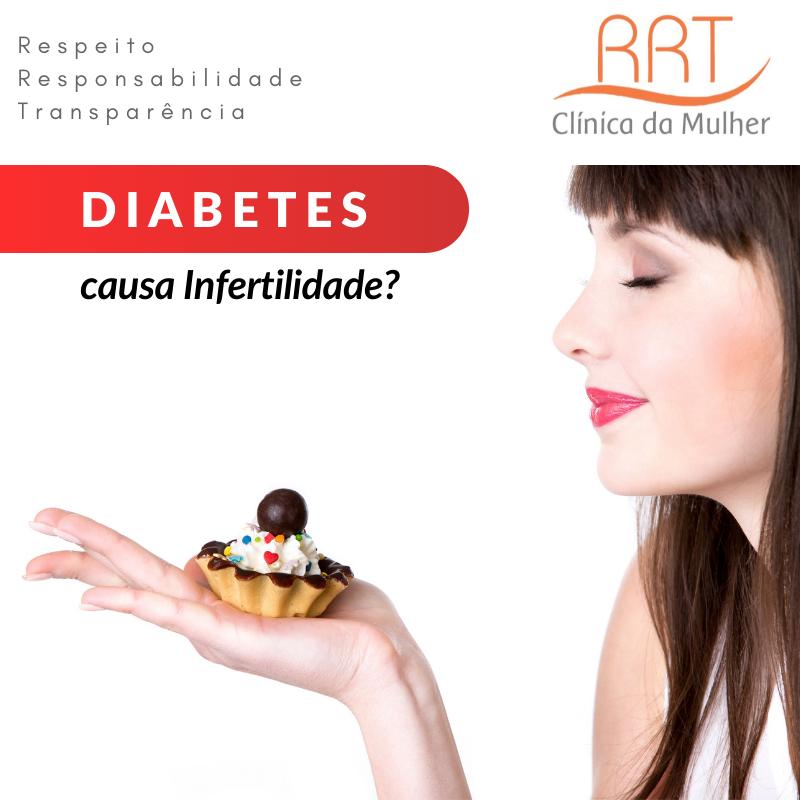 Porque diabetes causa infertilidade