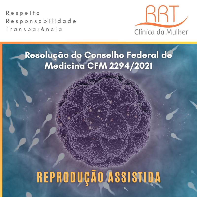 Resolução do CFM 2294 de 2021