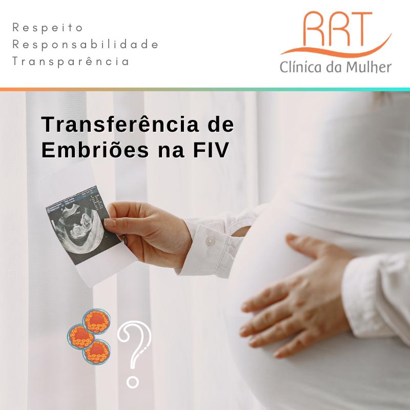 Quantos embriões posso transferir na FIV