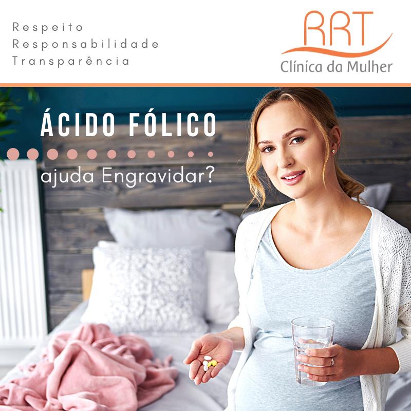 Ácido fólico ajuda engravidar