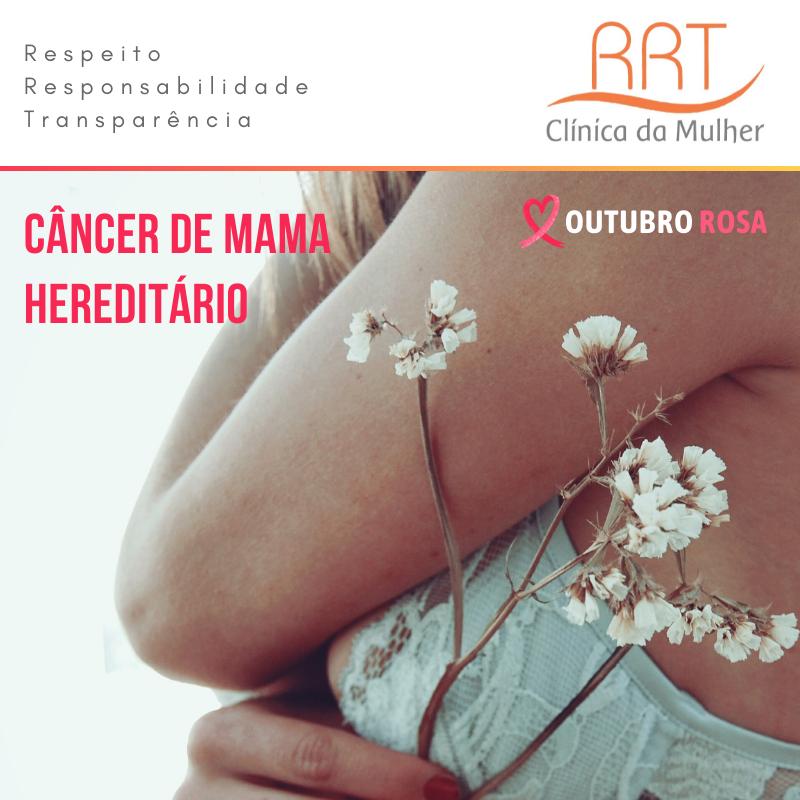 Câncer de Mama Hereditário Mutação BRCA1 Outubro Rosa